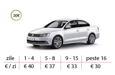 rent a car aeroport timisoara vw jetta